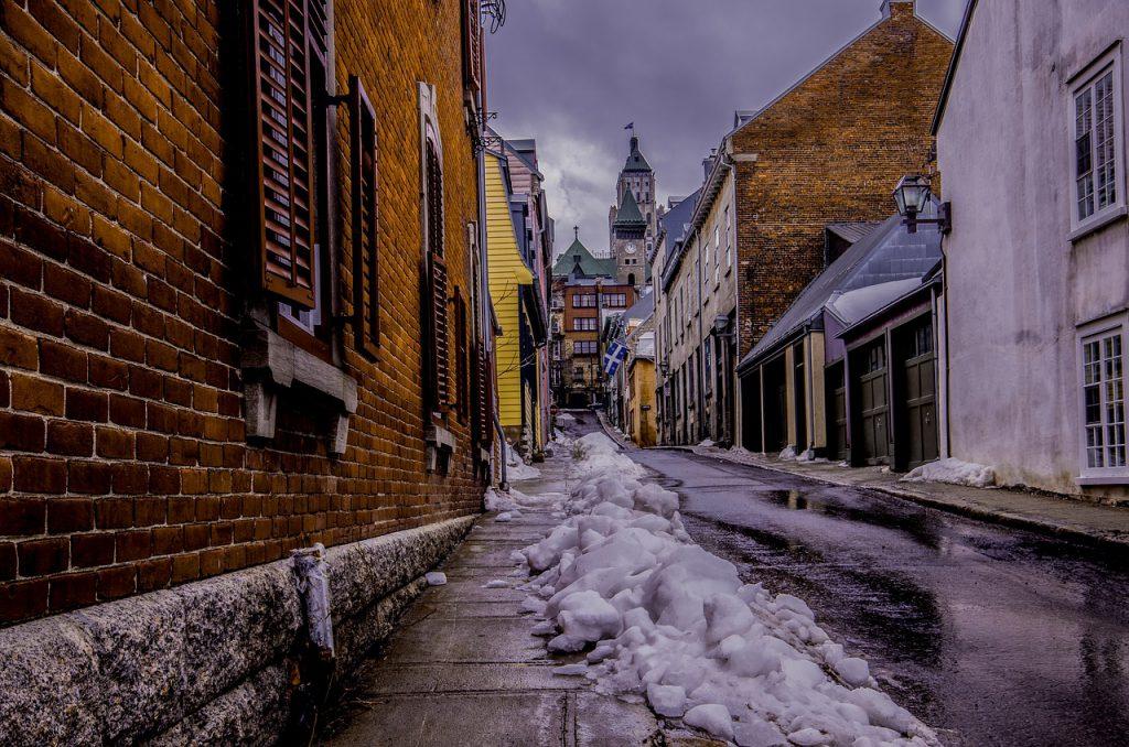 ケベックの古い町