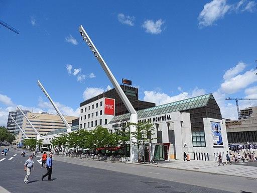 モントリオール現代美術館(外観)
