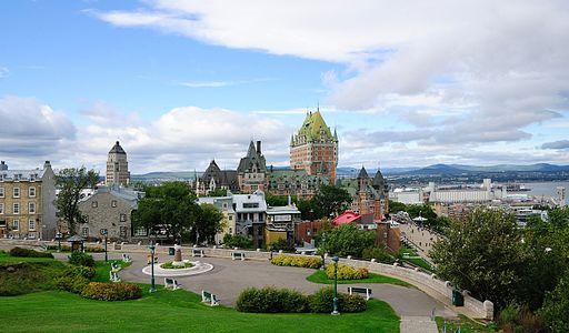 ケベック旧市街の歴史地区